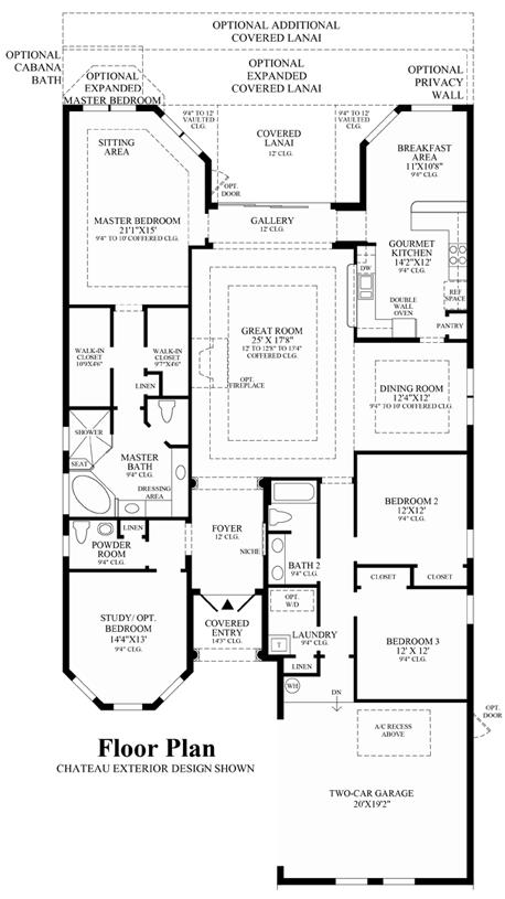 Salerno - Floor Plan