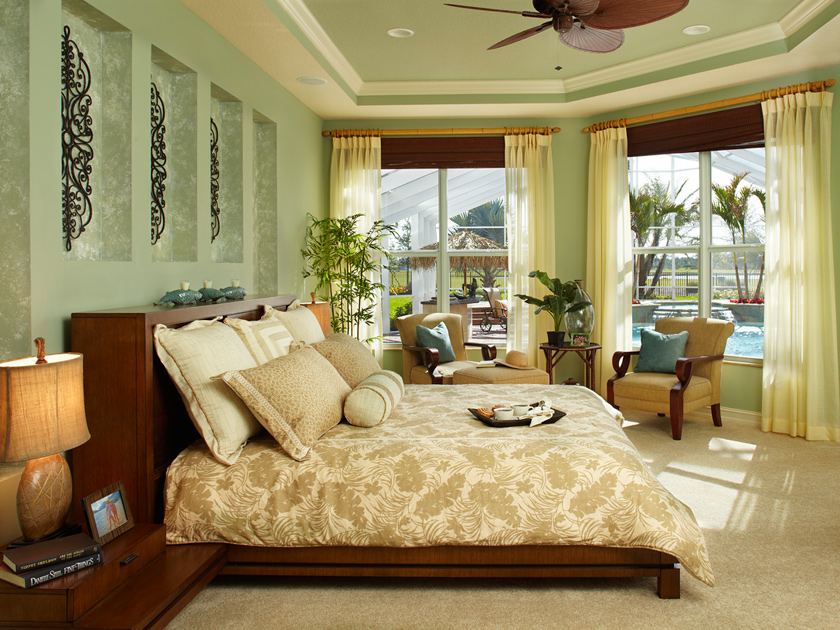 Jupiter country club golf villas the saranac home design for Mediterranean bedrooms