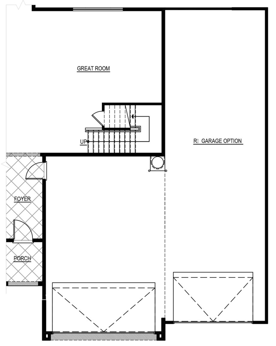 Optional RV Garage w/ 6 ft. Increase Floor Plan