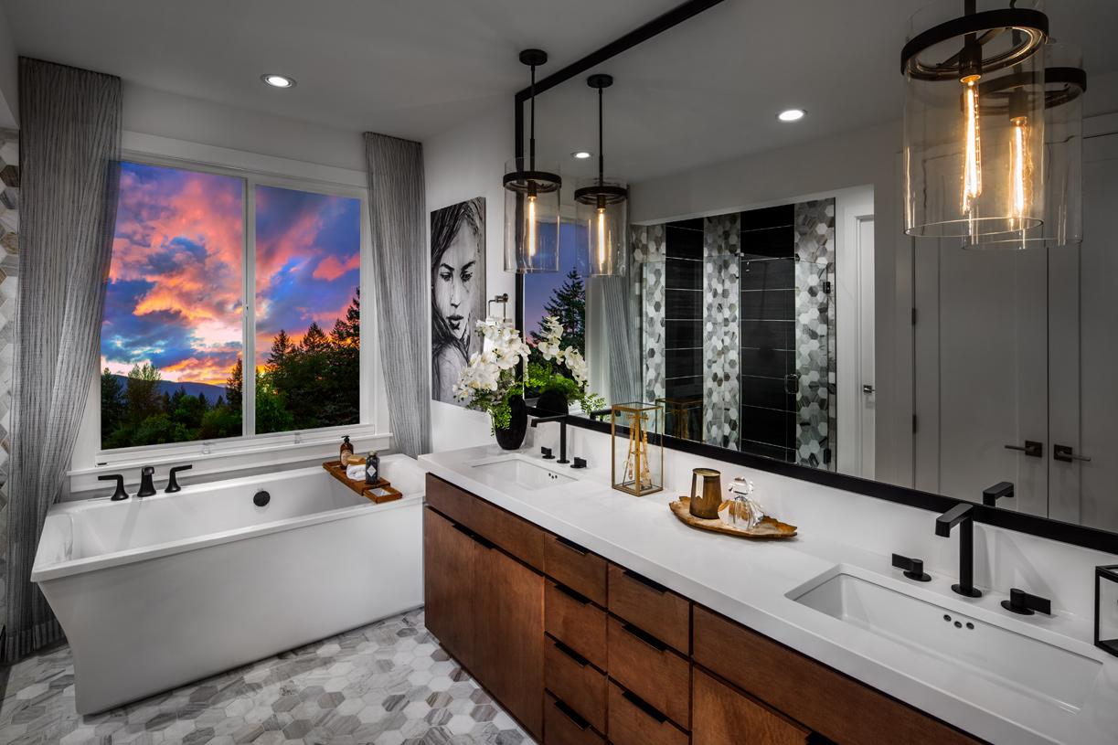 Lavish 5-piece primary bath