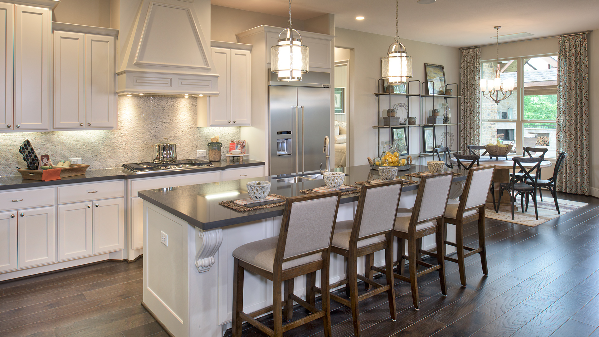 Kitchen Model Of The Adalyn Home Design Available In Magnolia, TX