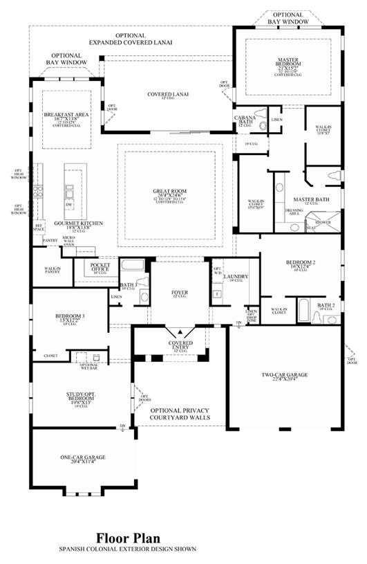 San Giovanni - Floor Plan