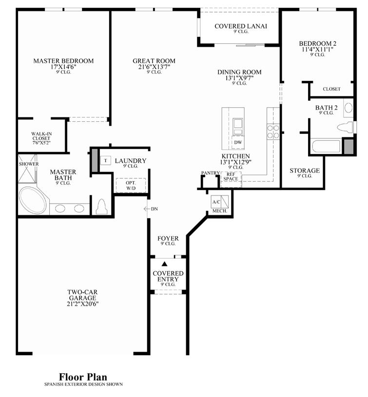 San Michelle - Floor Plan