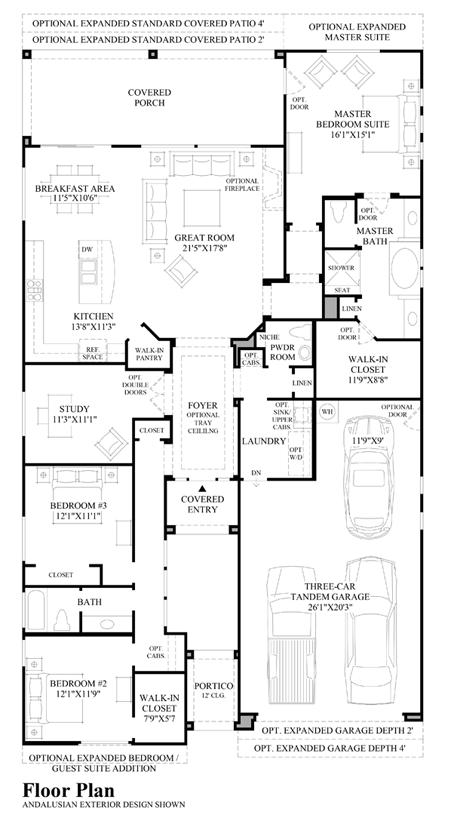 San Pietro - Floor Plan