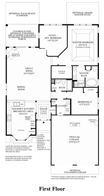 San Remo - Floor Plan