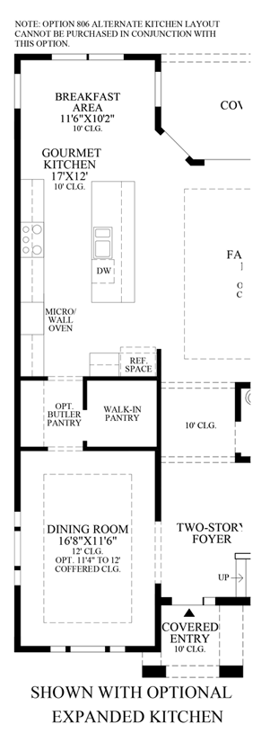 Julington Lakes - Optional Expanded Kitchen