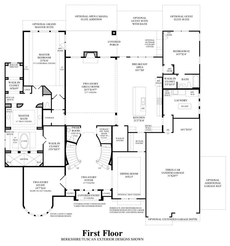 Cinco Ranch Ironwood Estates The Montelena Home Design - Floor plans for homes in texas