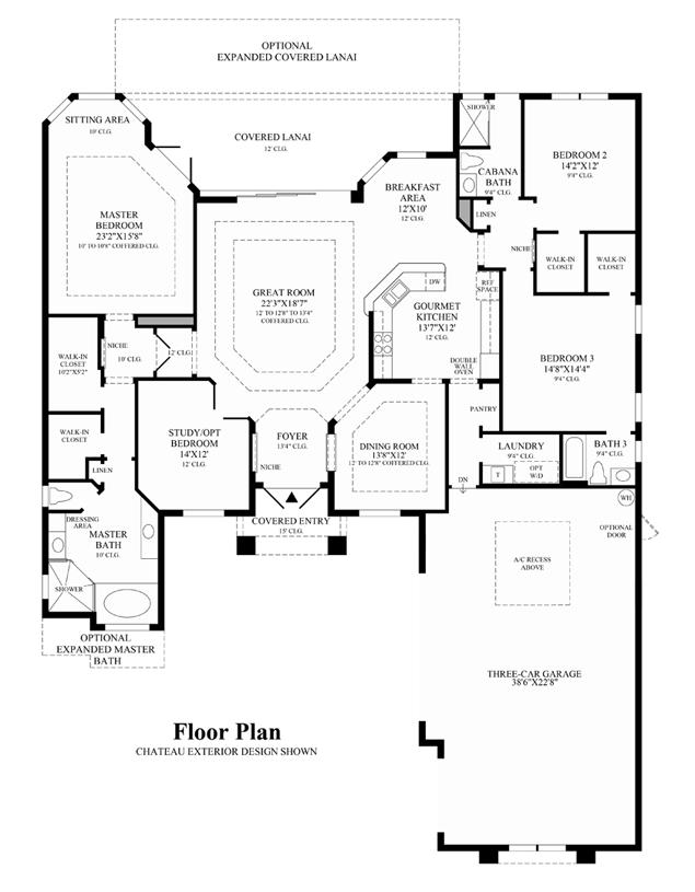 Sandpiper - Floor Plan