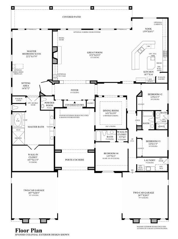 Santa Fe - Floor Plan