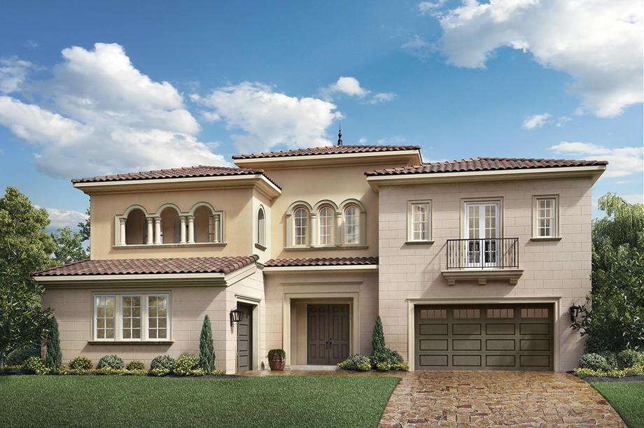 Enclave at yorba linda the capistrano ca home design for Italianate homes for sale