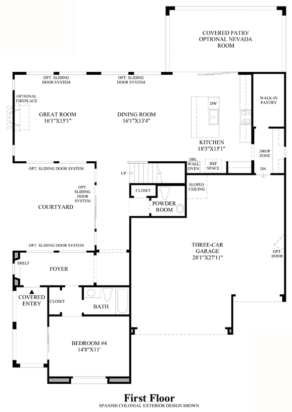 Santa Rosa - 1st Floor