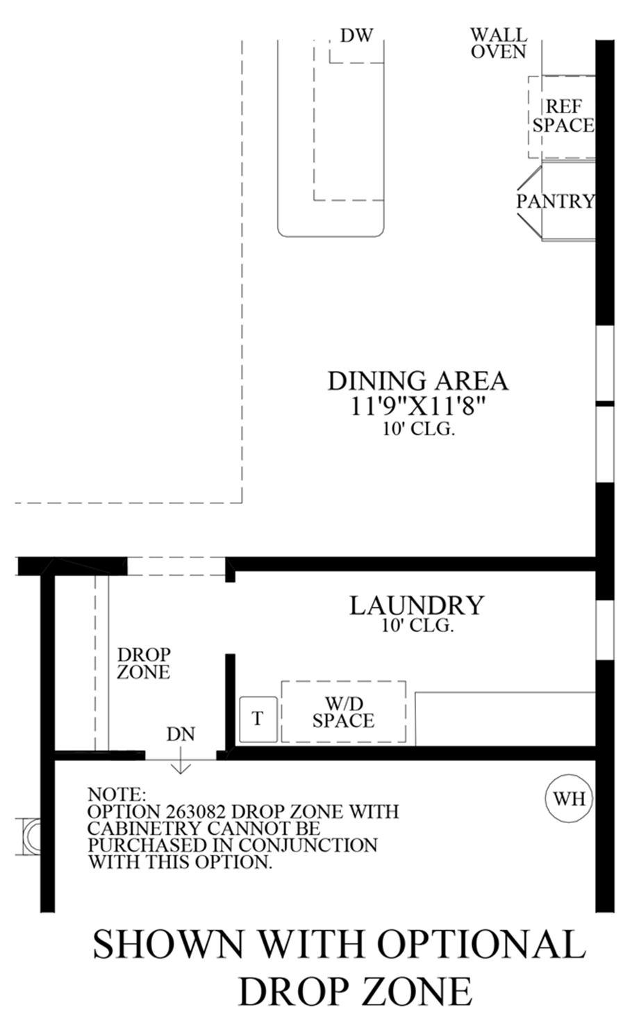 Optional Drop Zone Floor Plan