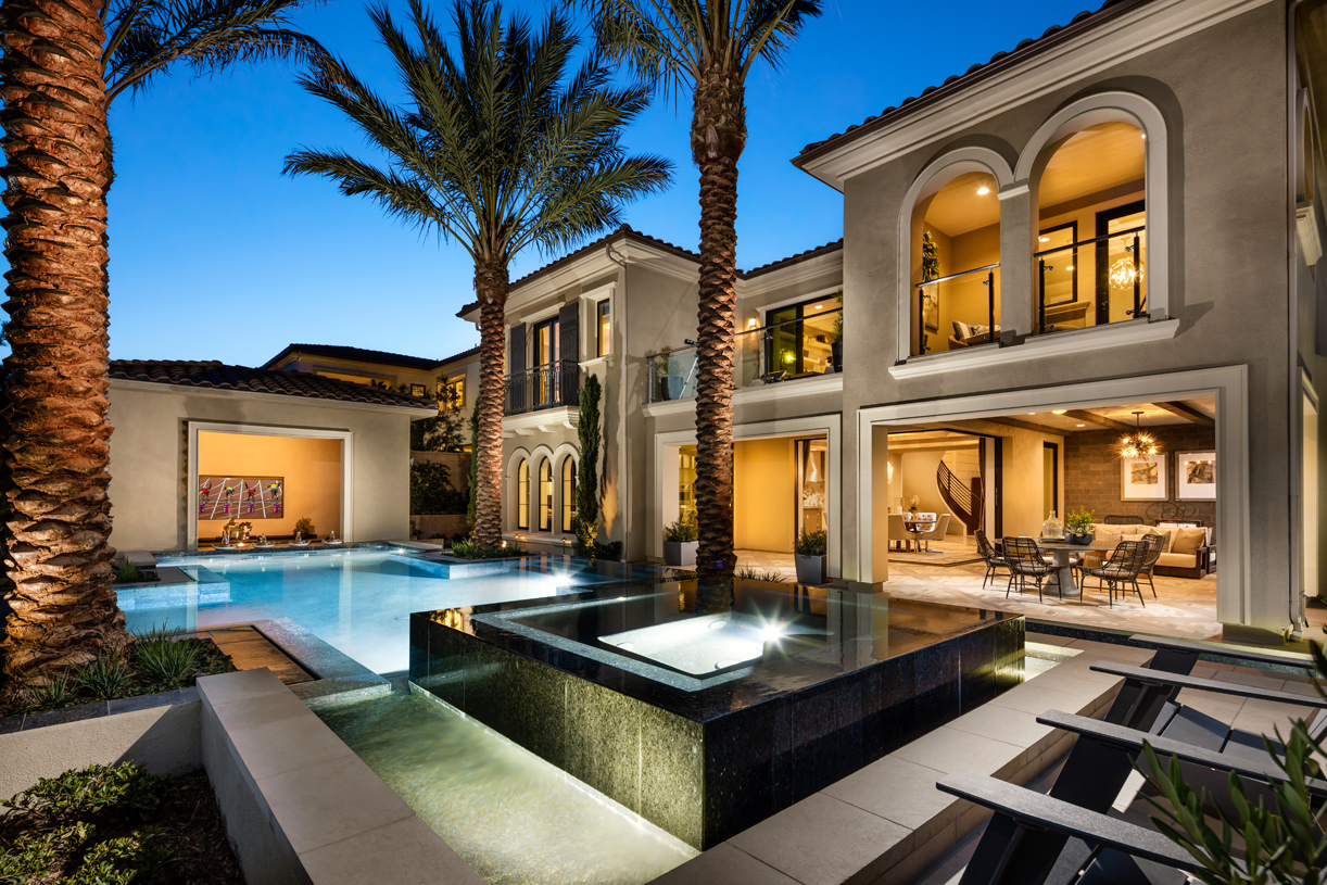 Expansive outdoor space