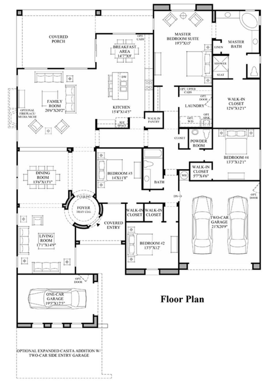 Toll brothers at blackstone the santiago az home design for Arizona floor plans