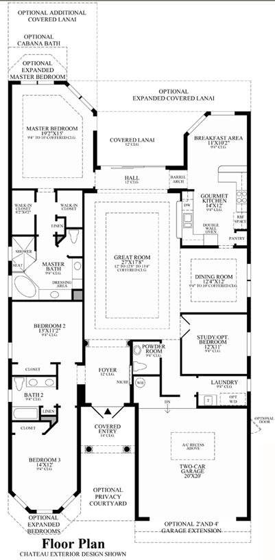 Saranac - Floor Plan