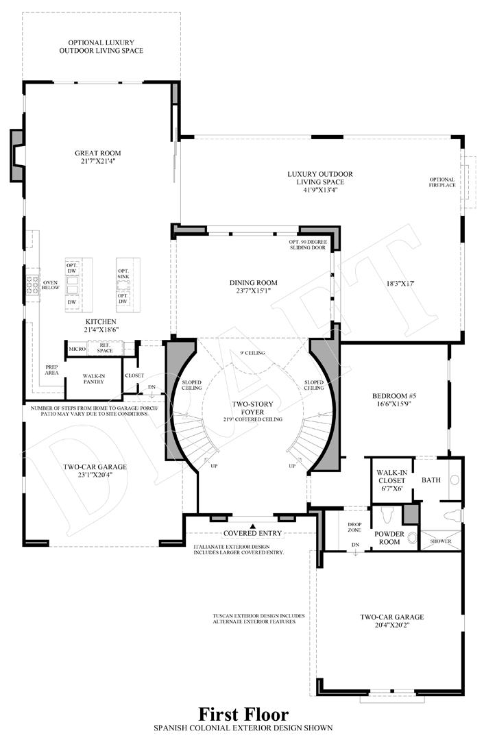 Alta Vista at Orchard Hills | The Savona Home Design