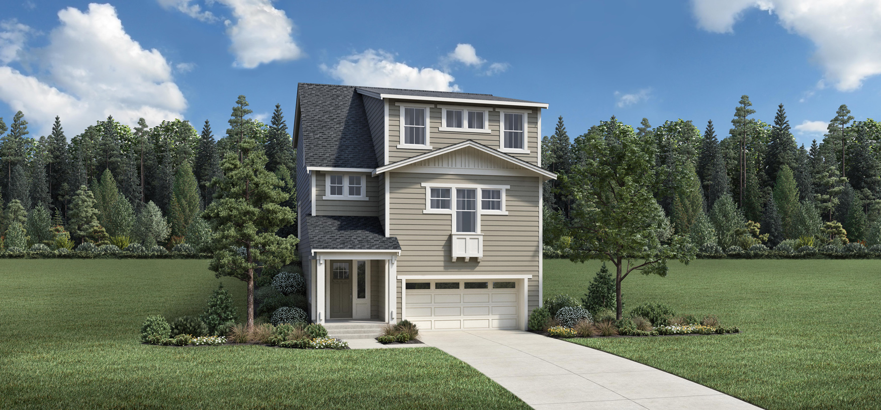 Scappoose with Basement -  Traditional