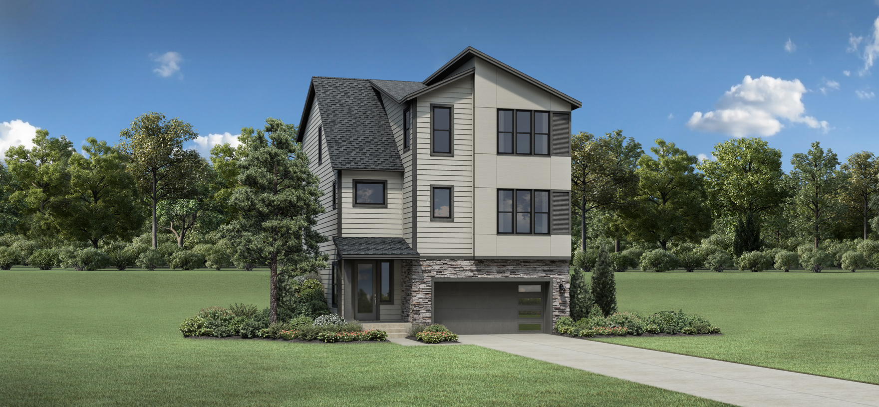 Scappoose with Basement -  Contemporary