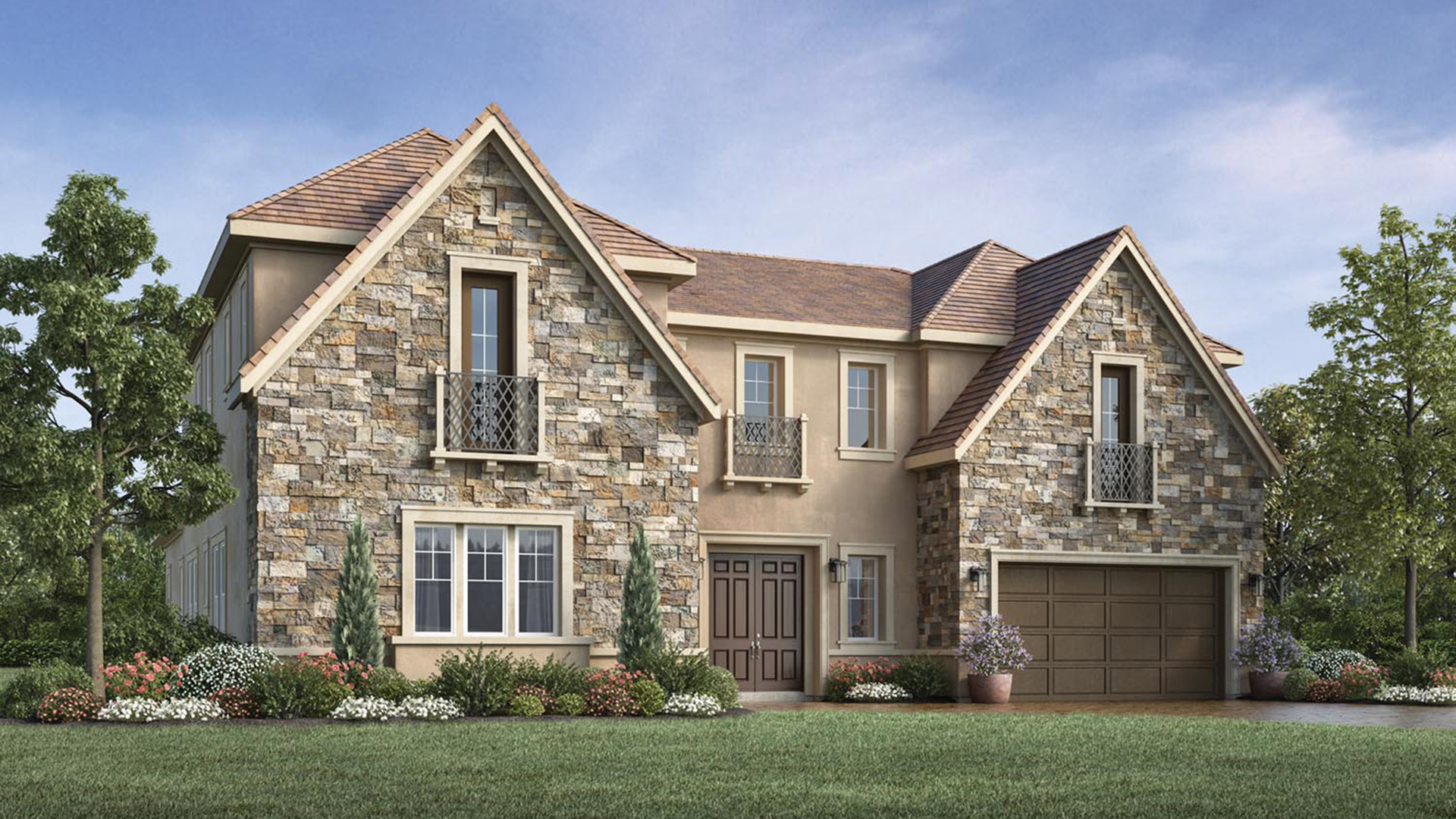 Toll brothers at robertson ranch the bluffs the for New construction single story homes