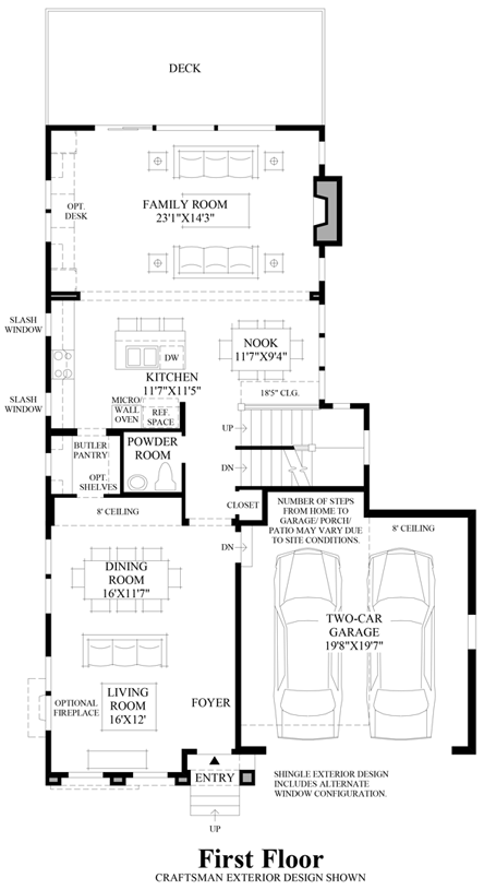 Canterbury park the ames home design Canterbury floor plan