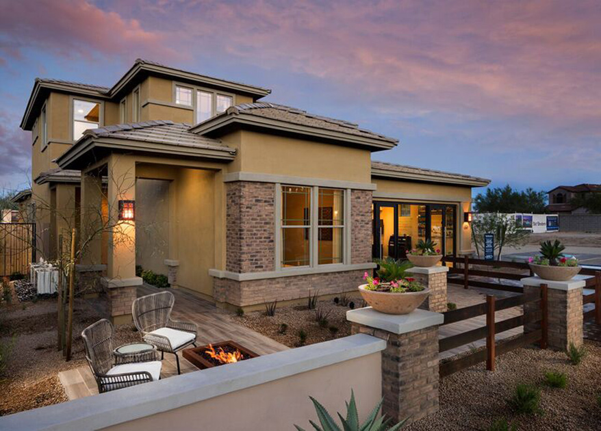 New luxury homes for sale in scottsdale az windgate for Scottsdale homes for sale with guest house