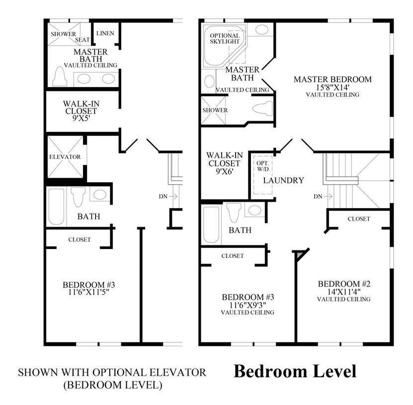 Sinclair - Bedroom Level