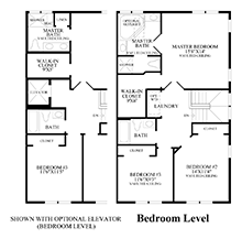 Sinclair - Bedroom Level