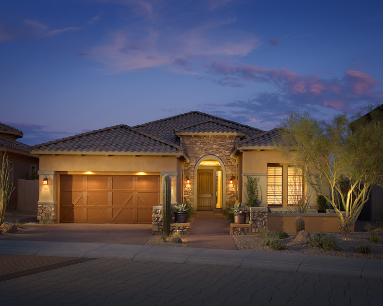 Windgate ranch scottsdale cassia collection the for Ranch house elevations