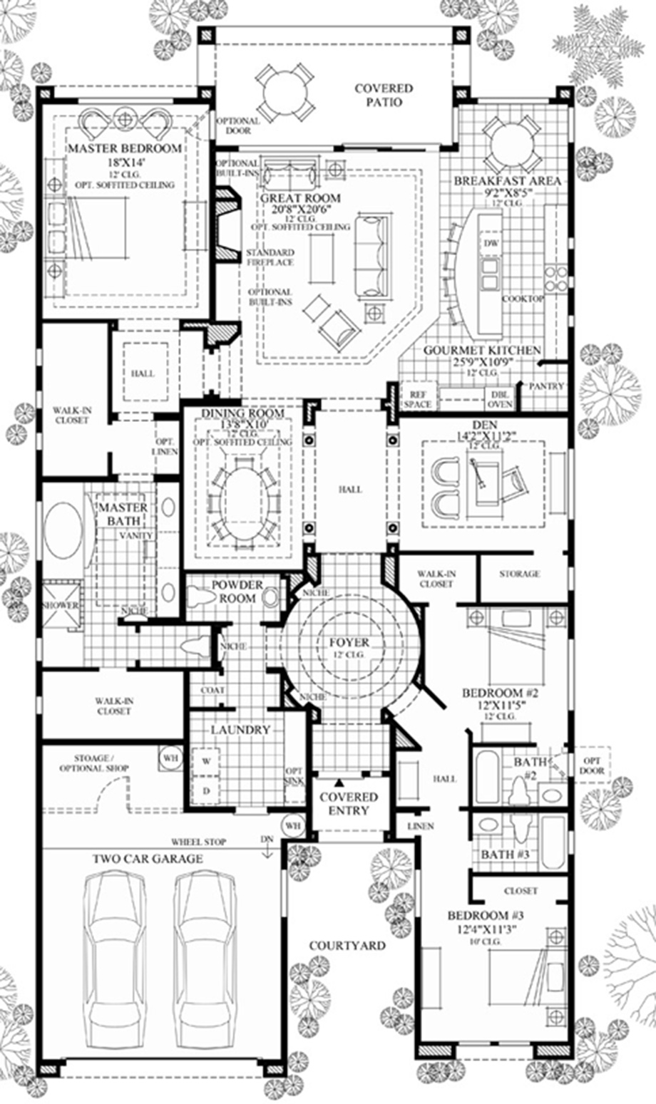 Windgate ranch scottsdale cassia collection the for Az house plans