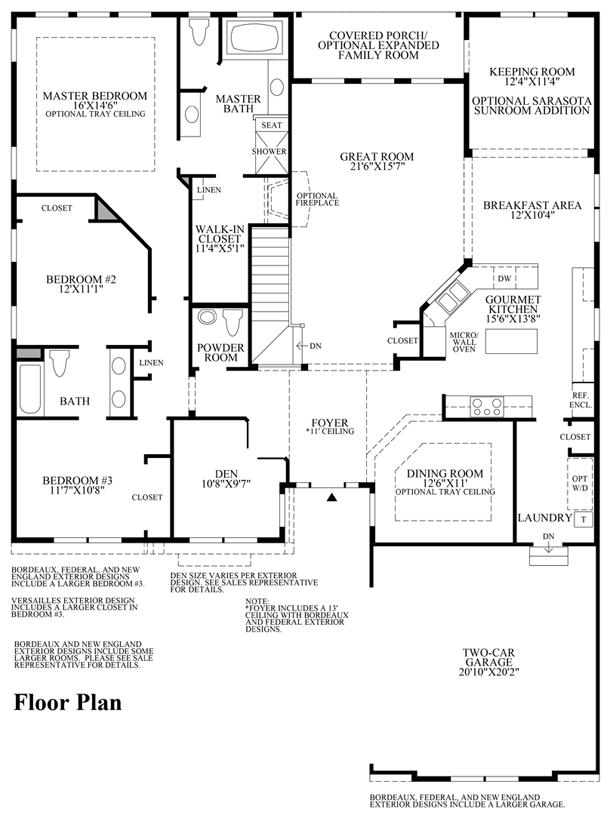 Somerton - Floor Plan