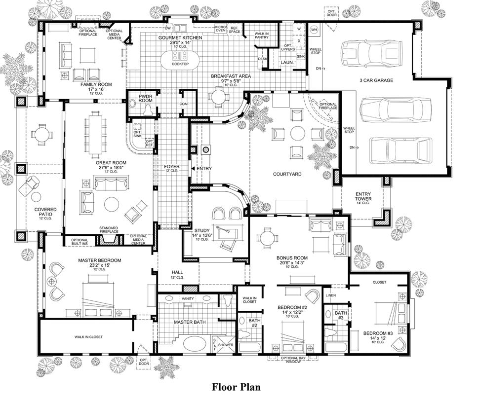 Sonterra - Floor Plan