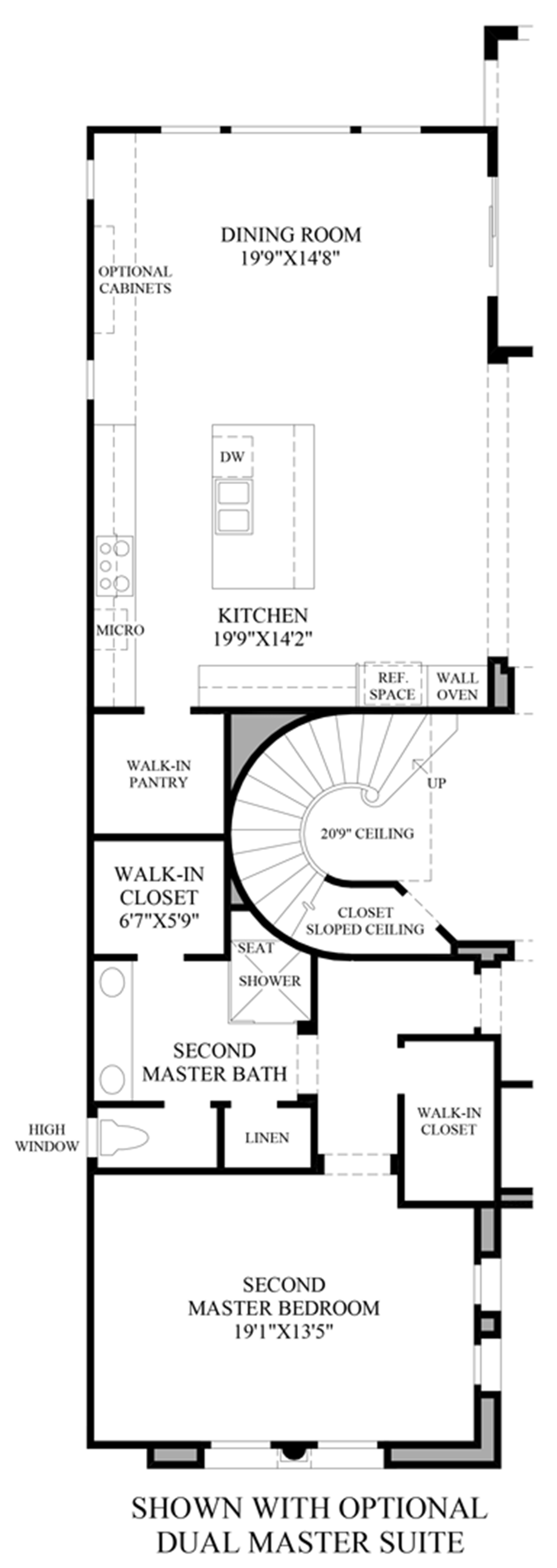 Altura the sorrento nv home design for Dual master bedroom floor plans