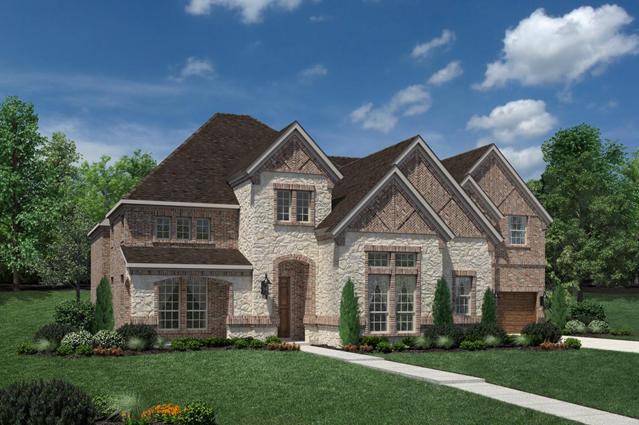 Cinco Ranch Ironwood Estates The St Paul Home Design
