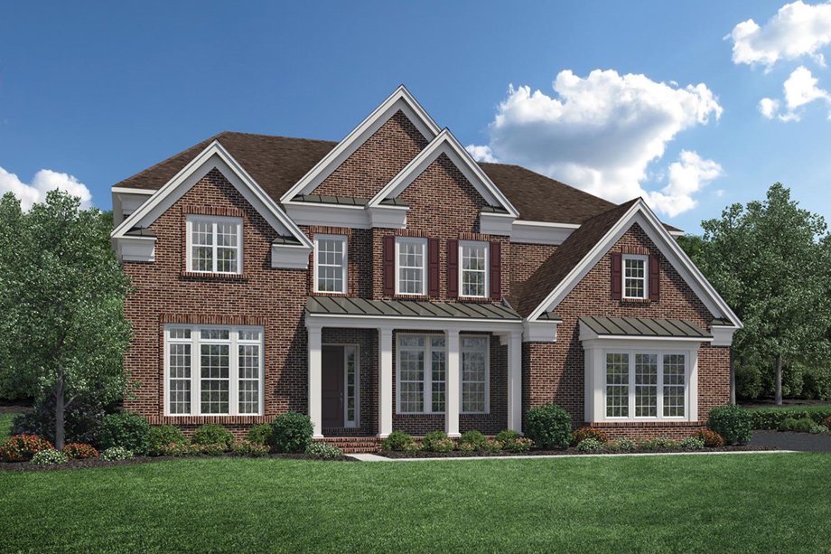 The Classic. Lincroft NJ New Homes for Sale   Estates at Bamm Hollow
