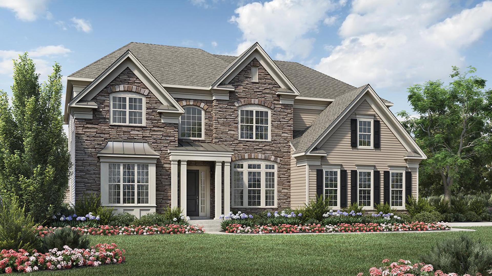 Enclave At White Oak Creek The Stallworth Home Design