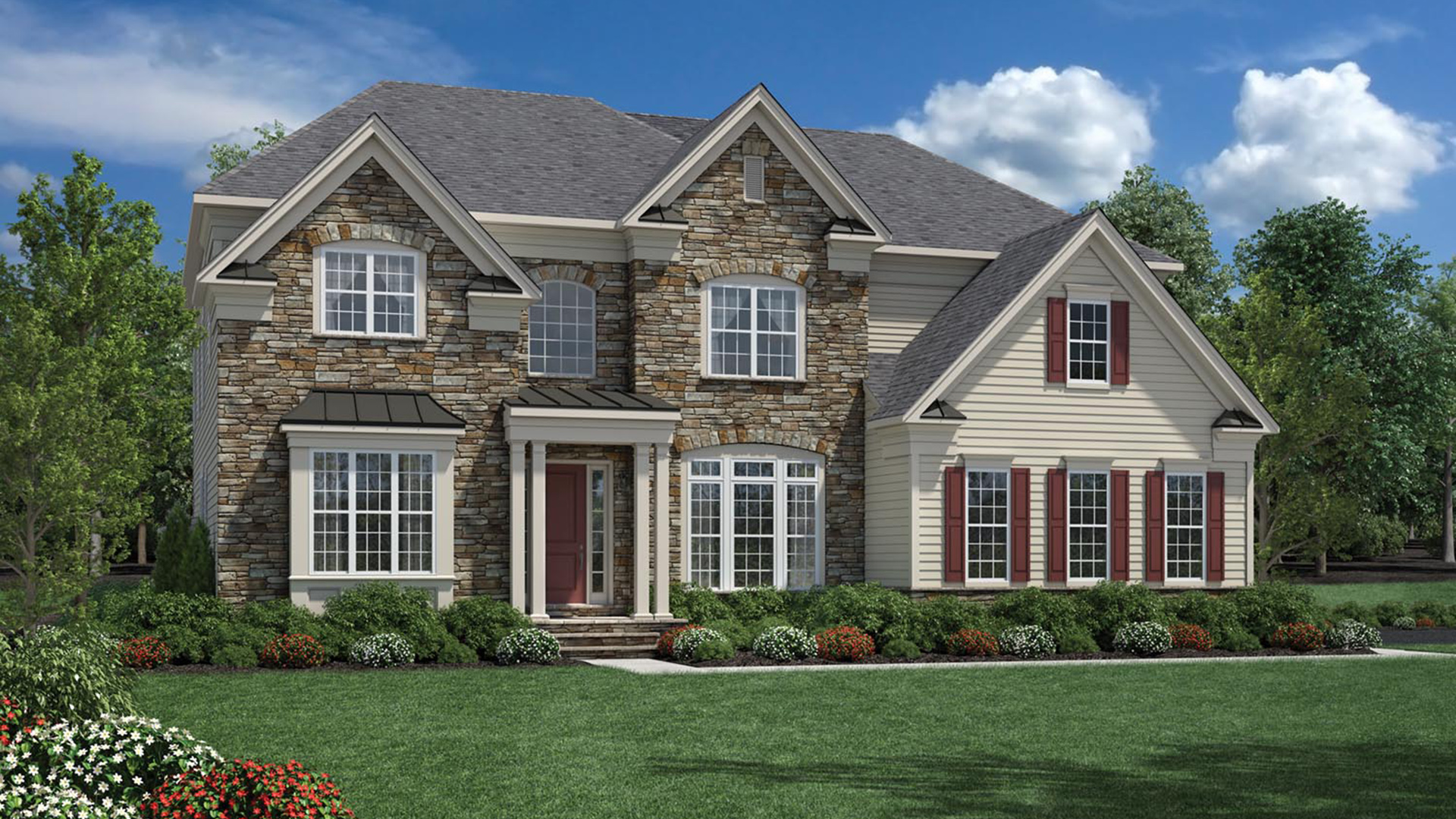 Reserve at franklin lakes signature collection the for Allworth home designs