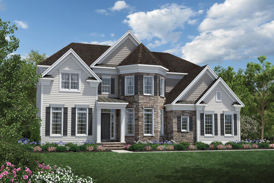 The country manor for Allworth home designs