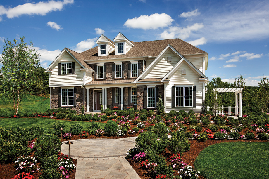 Estates at south windsor the stansbury home design for Ct home builders