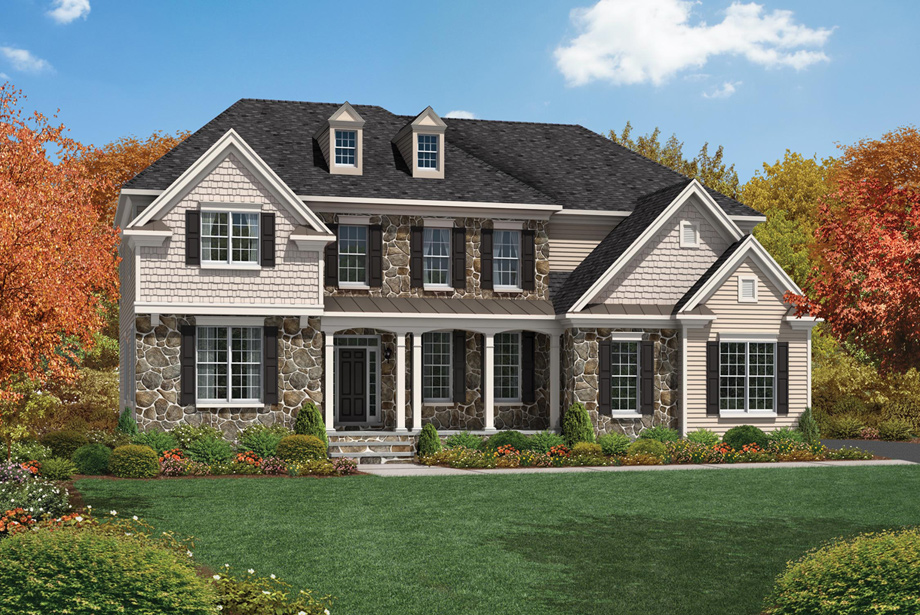 Riding Oaks Of Ann Arbor The Stansbury Home Design