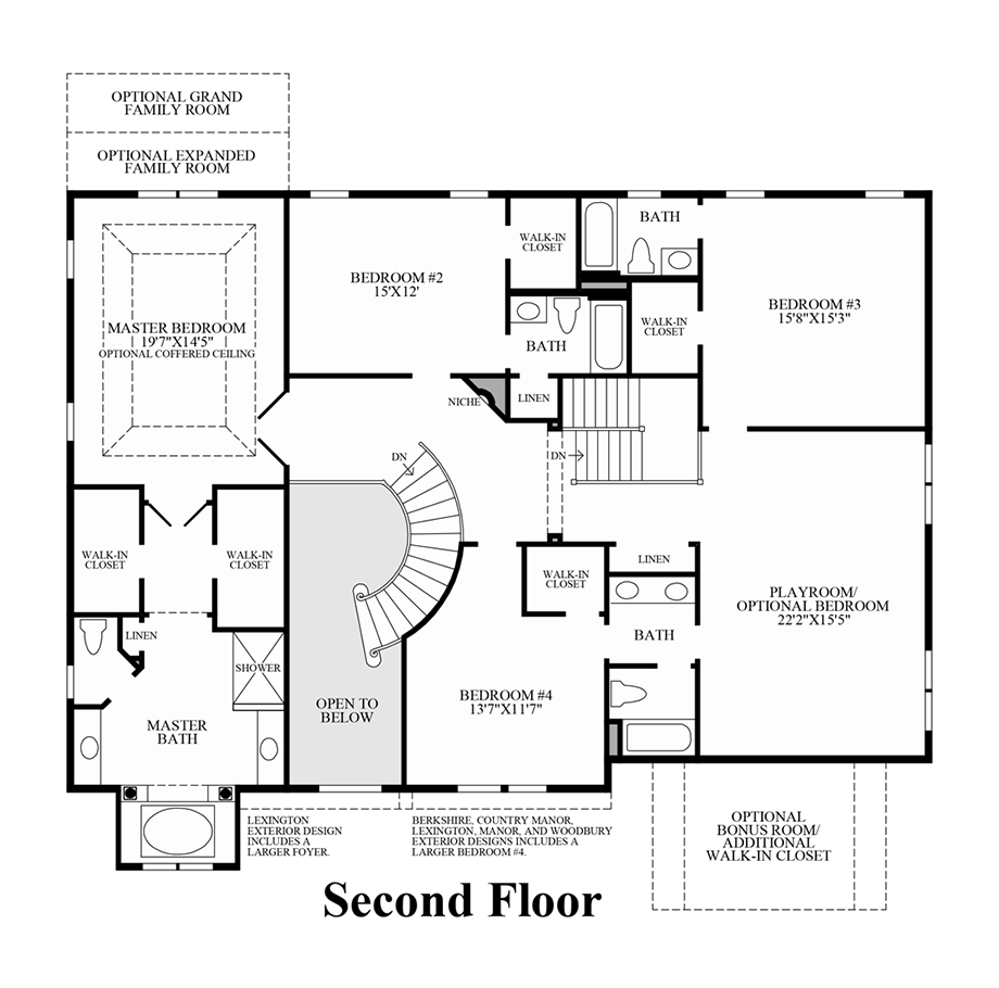 Design Your Own Home Toll Brothers: The Stansbury Home Design