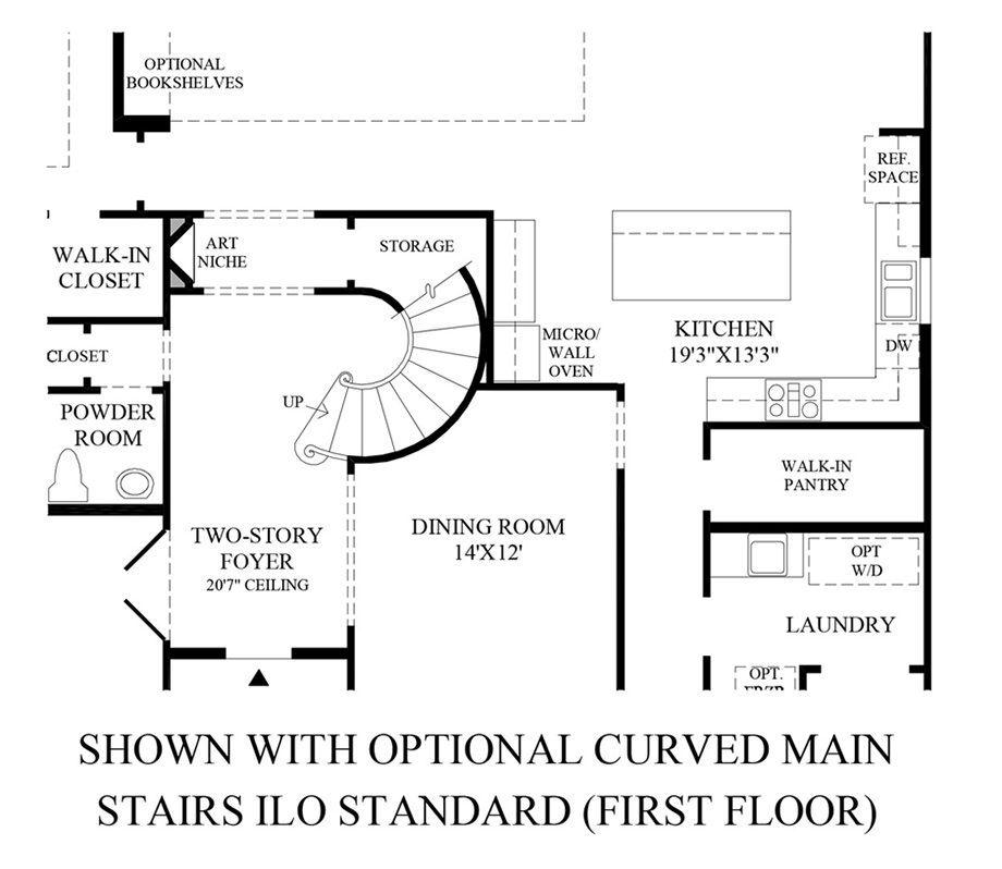 28 Floor Plan Symbols Stairs Www Rivington By Toll