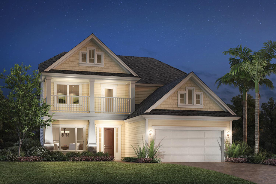 Coastal oaks at nocatee legacy collection the for Craftsman homes for sale in florida