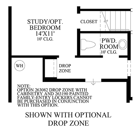 Optional Drop Zone