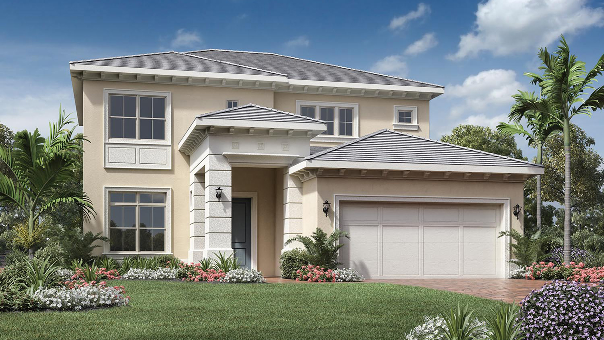 Toll brothers at eagle creek estate collection the for Palm beach home collection