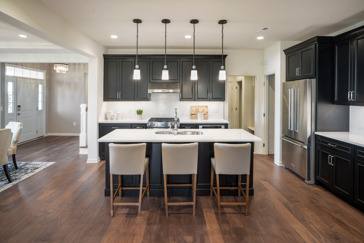 Kitchen features high-end stainless steel appliances