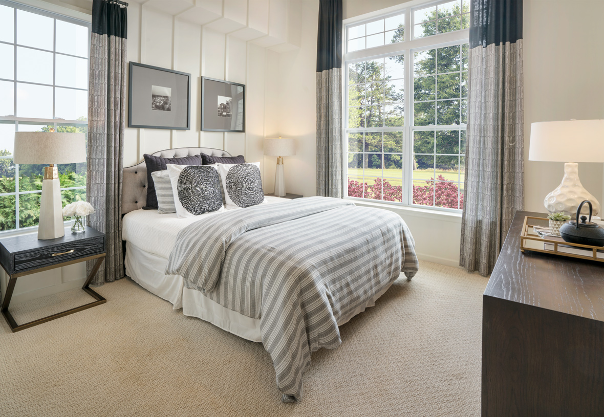 Guests will enjoy their stay in the private first-floor guest bedroom