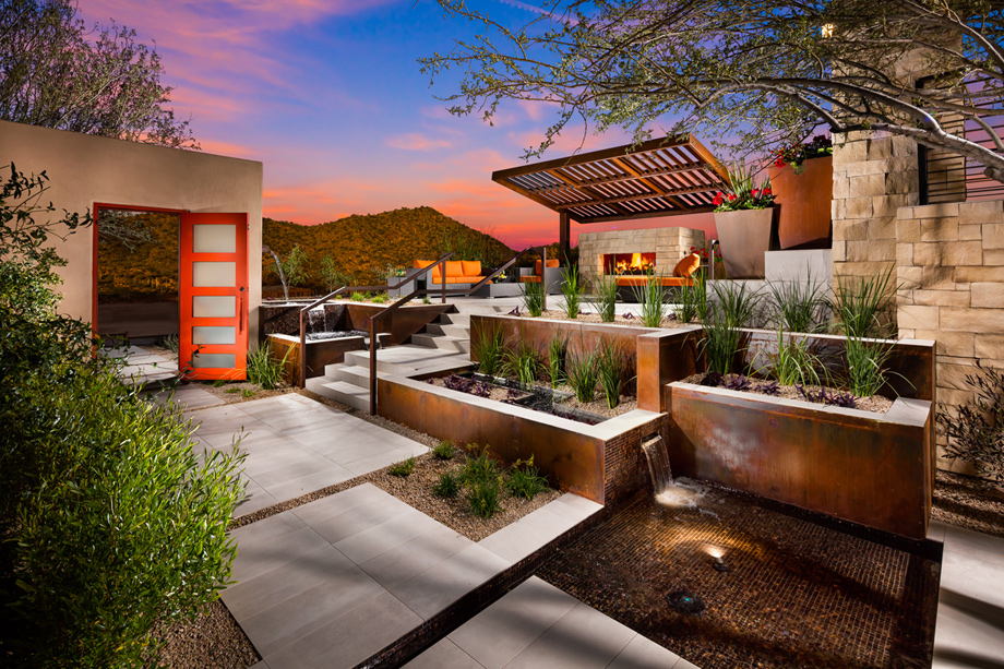 Toll Brothers At Adero Canyon The Sullivan Az Home Design
