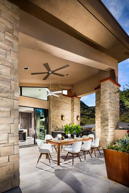 Toll Brothers At Adero Canyon The Sullivan Az Home Design