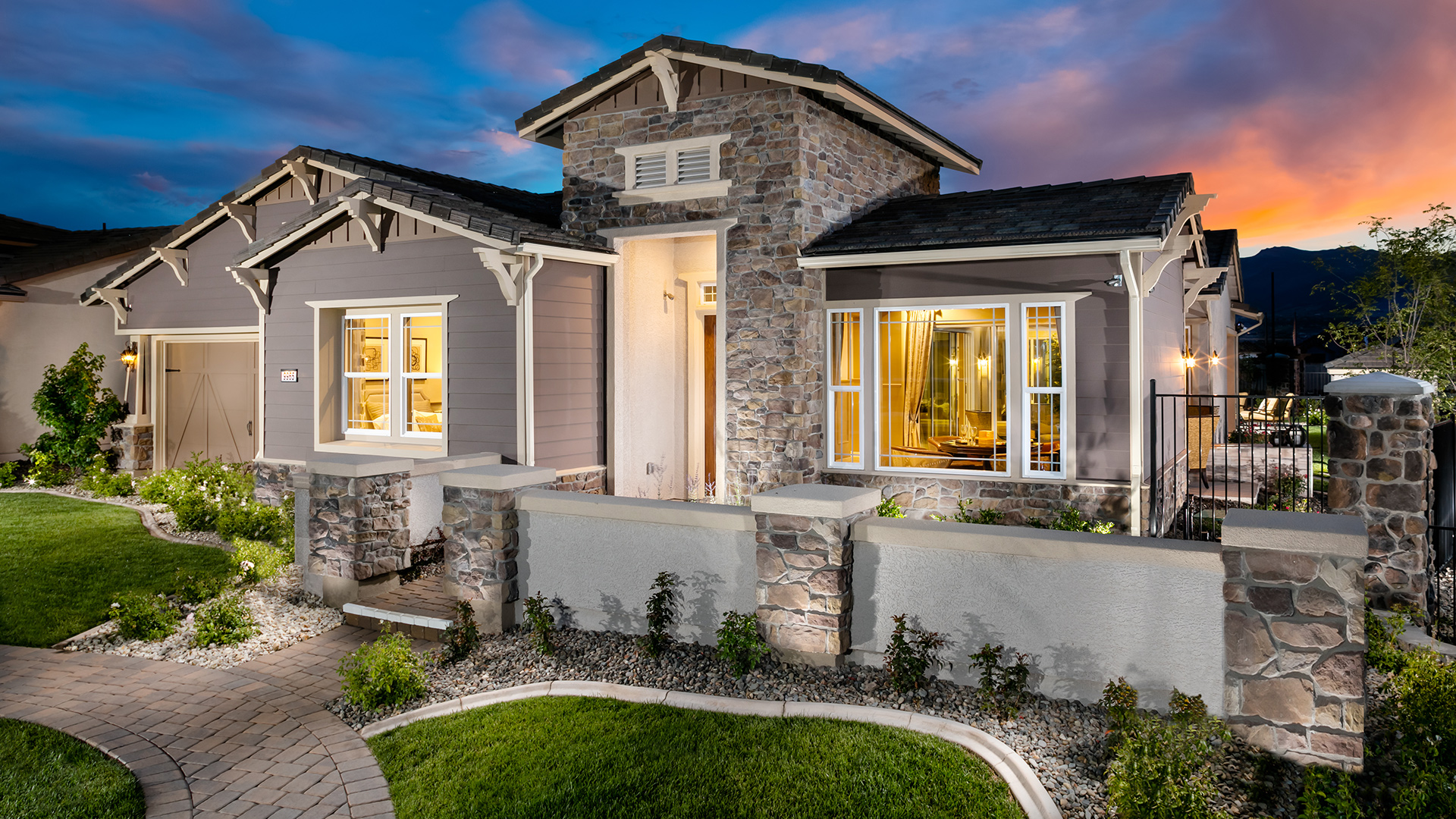 Regency At Damonte Ranch Winterlake Collection The Sundance Home