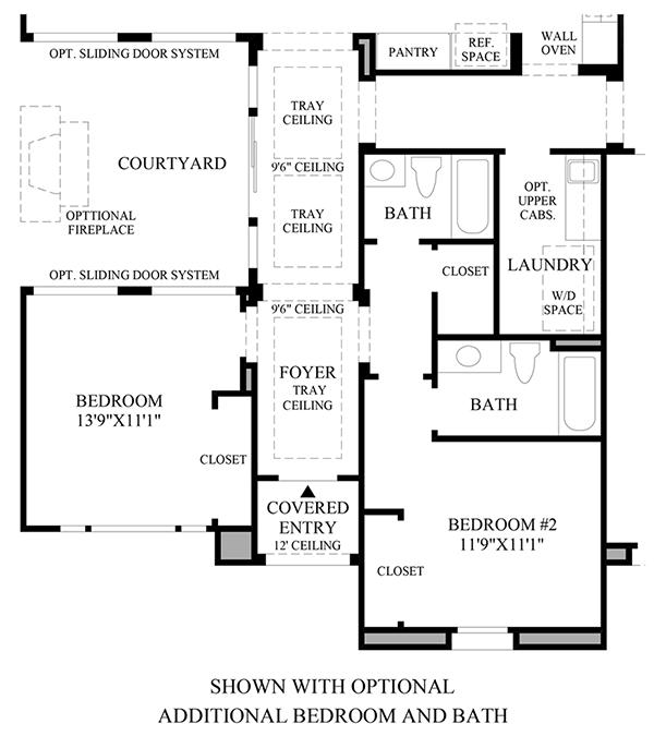 Optional Additional Bedroom &Bath